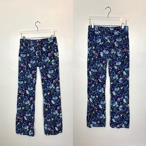 Lilly Pulitzer Main Line Fit Corduroy Pants Blue 4
